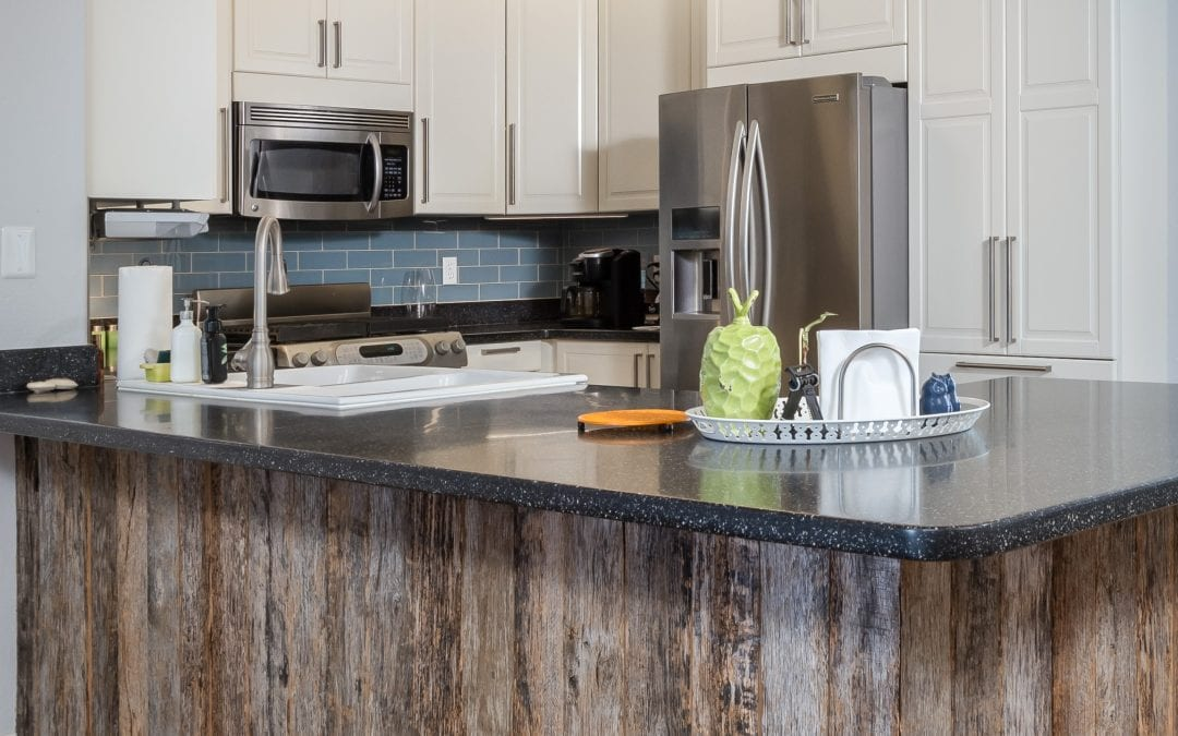 Tobacco Grey Kitchen Island Wrap