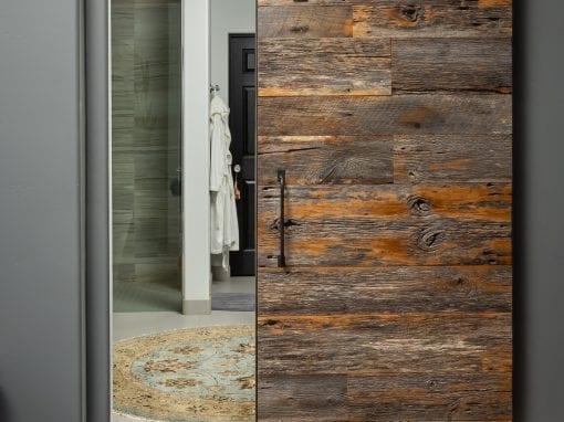 Tobacco Grey Master Bedroom Sliding Door