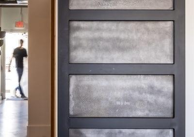 Serendipit Steel door