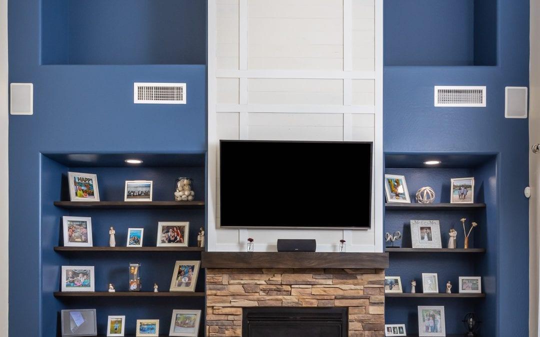 Living Room Entertainment Wall