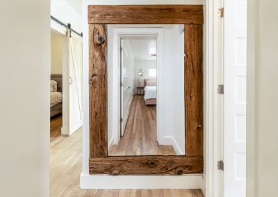 61st Mushroom Wood Mirror