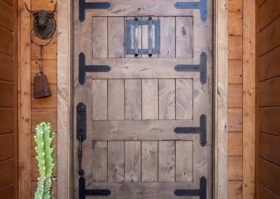 Alder Entry Door with Speakeasy