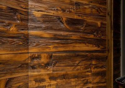 Mushroom Wood Wall & Hidden Door