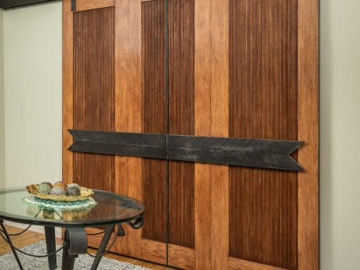 XL home office Bi-Part Sliding Doors