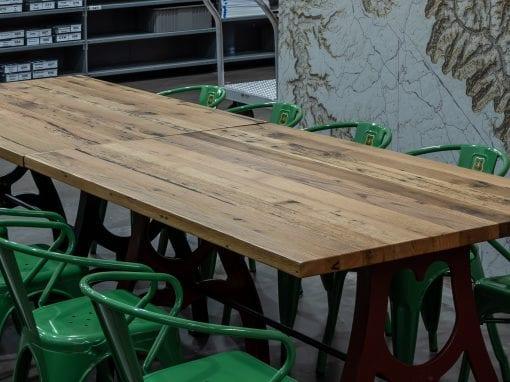 Mixed Hardwoods Break Room Table Tops