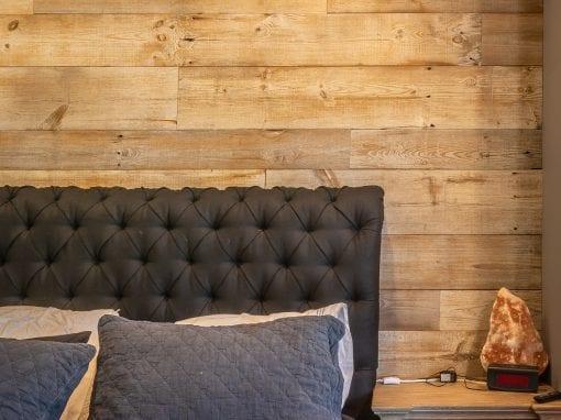 Reclaimed Bedroom Wood Wall