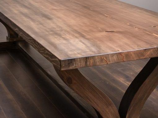 Custom Ponderosa Pine Dining Table