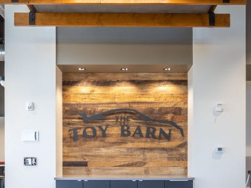 Toy Barn Chandler Tobacco Brown Wall & Sign