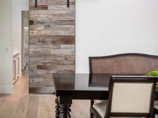 Tobacco Grey Dining Room Sliding Door