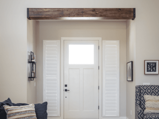 Reclaimed Tobacco Brown Entry Beam