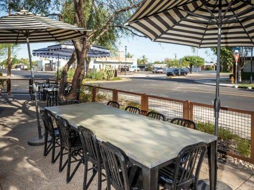 The Coronado Outdoor Concrete Table